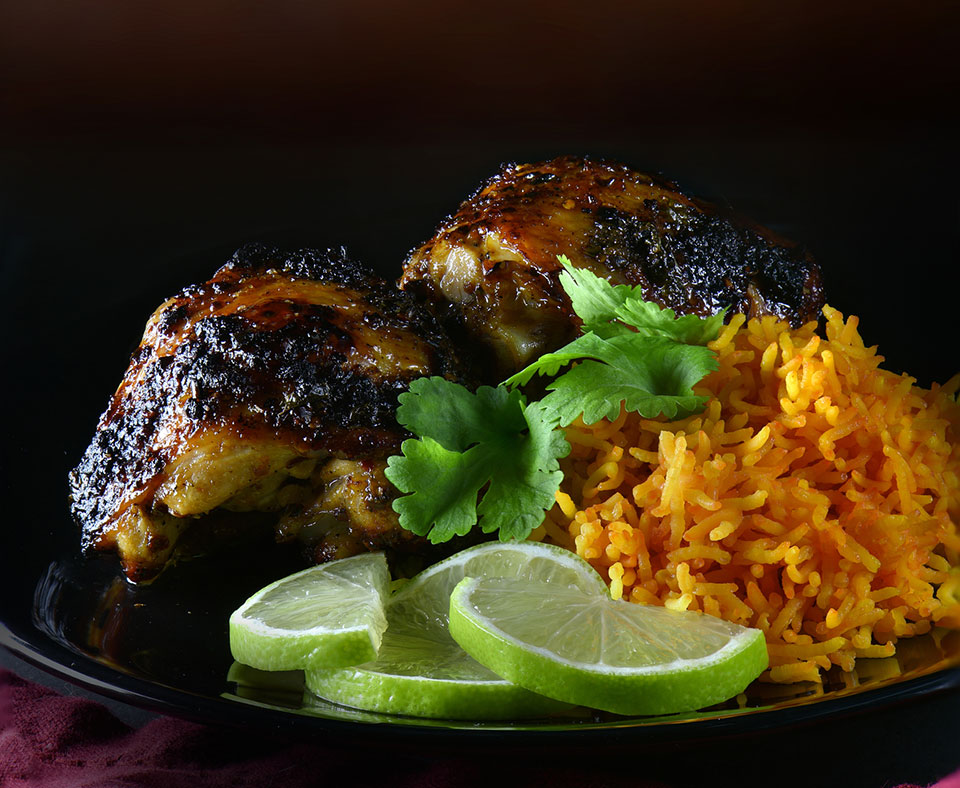 Ginger, Chilli and Lime Chicken