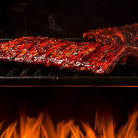Sticky Barbeque and Ginger Ribs